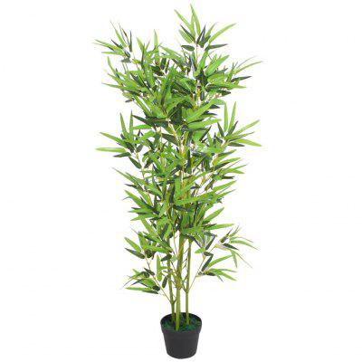 Artificial Bamboo Plant with Pot 120 cm