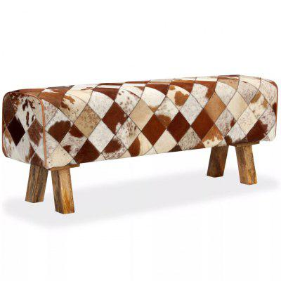 Bench Genuine Cowhide Leather Diamond Pattern