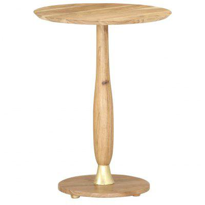 Side Table 45 cm Solid Acacia Wood