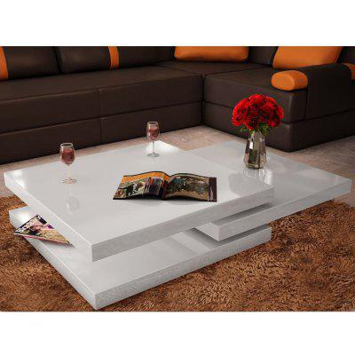 Coffee Table 3 Tiers High Gloss Black