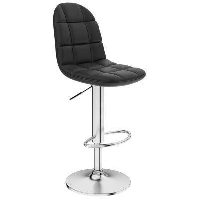 Bar Stool  Faux Leather