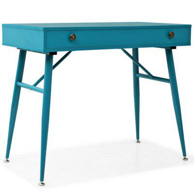 Writing Desk with Drawer 90x50x76.5 cm Antique Green