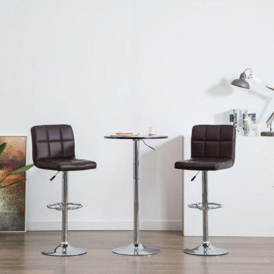Bar Chairs 2 pcs  Faux Leather