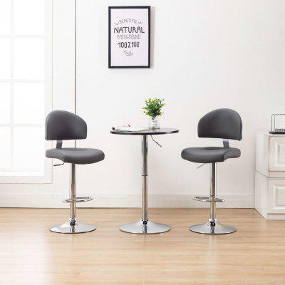 Bar Stool  Faux Leather Multicolor