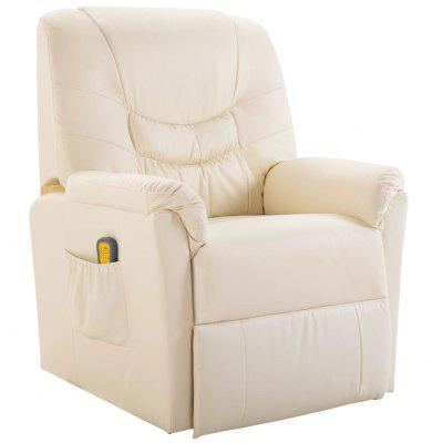 Electric Massage Recliner Chair Faux Leather