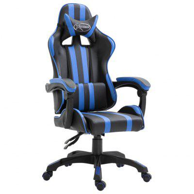 Gaming Chair Racing Office Computer Game Ergonomic Backrest and Seat Height Adjustment Recliner Swivel Rocker PU