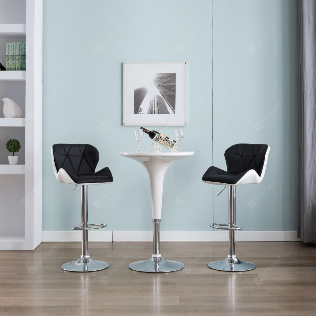 """""""Bar Stool Faux Leather Mulicolor"""" 3"""