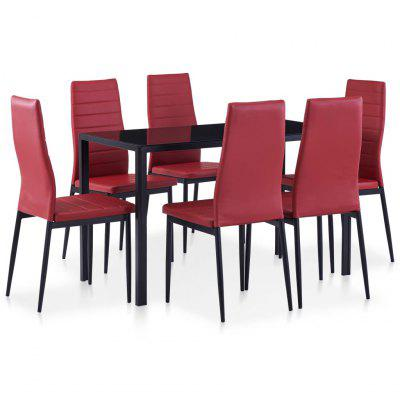 Modern Seven Piece Dining Set