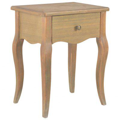Nightstand 40x30x50 cm Solid Pine Wood