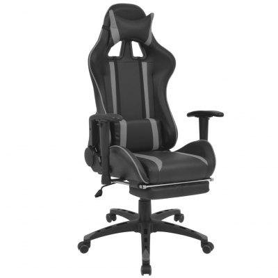 Reclining Office Racing Game Chair with Footrest