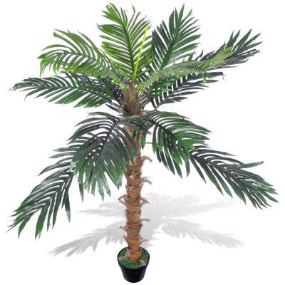 Artificial Plant Coconut Palm Tree with Pot 140 cm