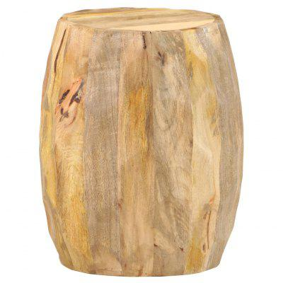 Drum Stool Solid Mango Wood