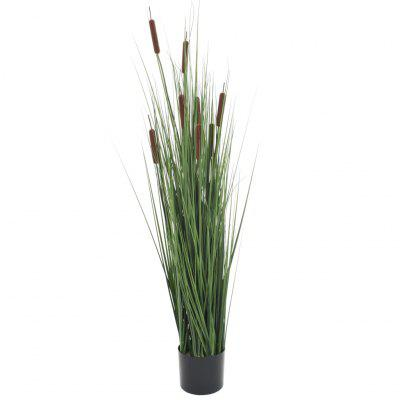 Artificial Grass Plant with Bulrush 85 cm