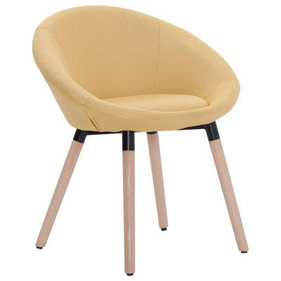Dining Chair Yellow Fabric