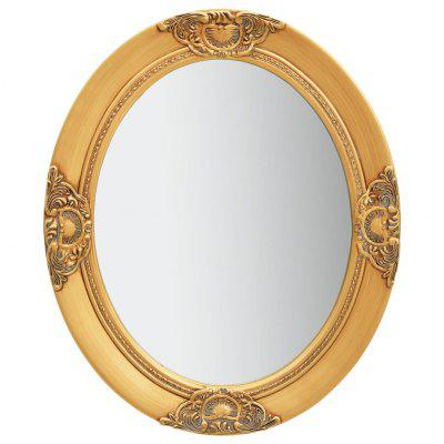 Wall Mirror Baroque Style 50x60 cm Gold