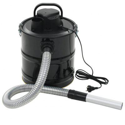 Ash Vacuum Cleaner with HEPA Filter 1000 W 20 L Black