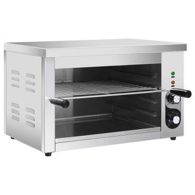 Electric Gastronorm Salamander Grill 3000 W Stainless Steel