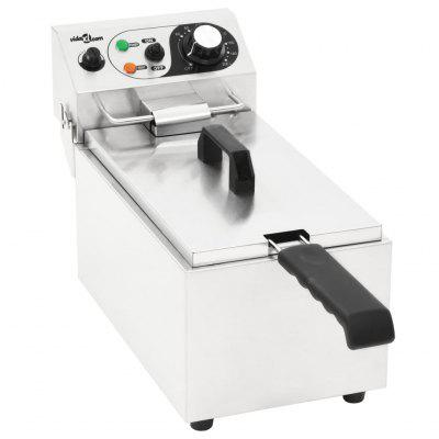 Electric Deep Fryer Stainless Steel 6 L 2000 W