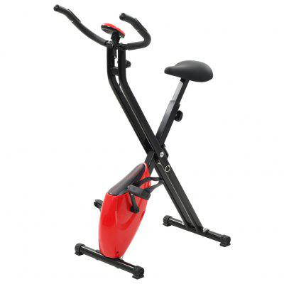 Magnetic Exercise XBike with Pulse Measurement Black and Red