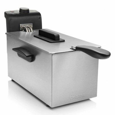 Tristar Deep Fryer 2000 W 3 L Stainless Steel Sliver