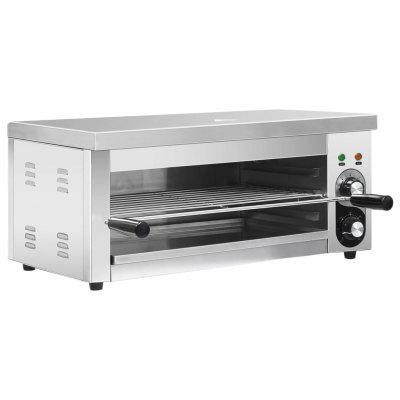Electric Gastronorm Salamander Grill 2500 W Stainless Steel