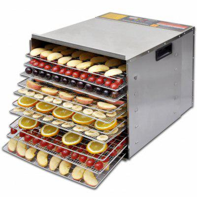 Food Dehydrator with 10 Trays  Stainless Steel