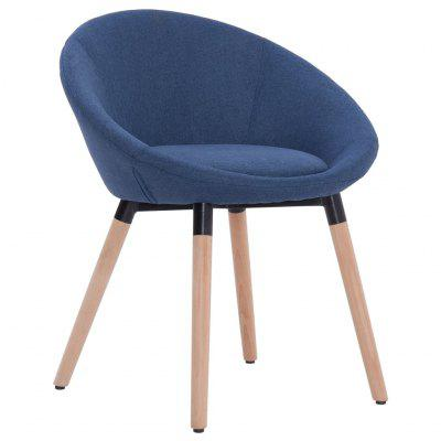 Dining Chair Blue Fabric