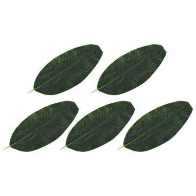 Artificial Leaves Banana 5 pcs Green 50 cm