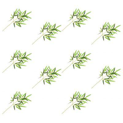 Artificial Leaves Bamboo 10 pcs Green 60 cm