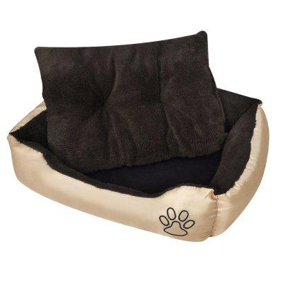 Warm Basket for Dog with Padded Cushion