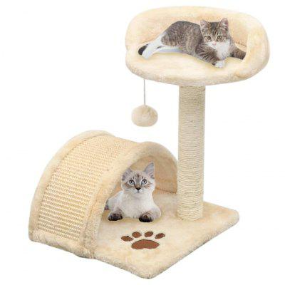 Cat Tree with Sisal Scratching Post 40 cm
