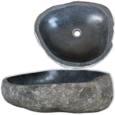 Oval River Stone Sink