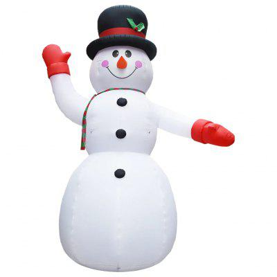 Inflatable Snowman with LEDs Christmas Decoration IP44 300 cm