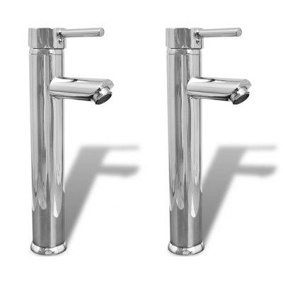 Bathroom mixers 2 pcs Chrome
