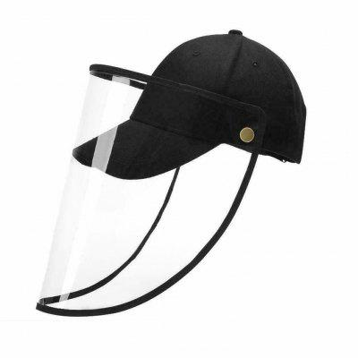 Removable Face Shield hat Facial Cover Cap Safety Baseball Sun Protective Hat