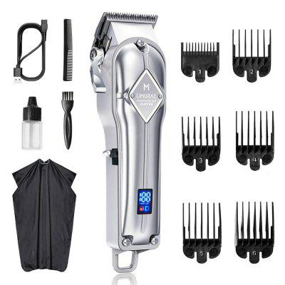 Limural Rechargeable Hair Clipper Professional Beard Trimmer Shaver Cordless Men