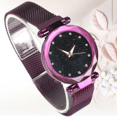 Starry Sky Watch Waterproof Magnetic Strap Luxury Quartz Dial