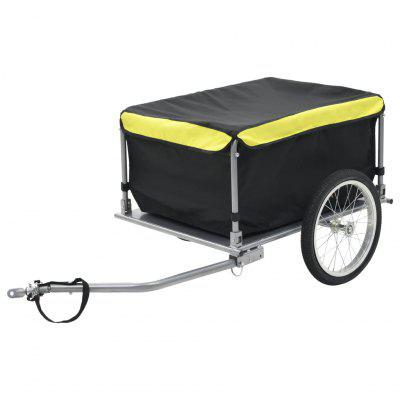 Bicycle Trailer Black and Yellow 65 kg Outdoor Tools, Gearbest  - buy with discount