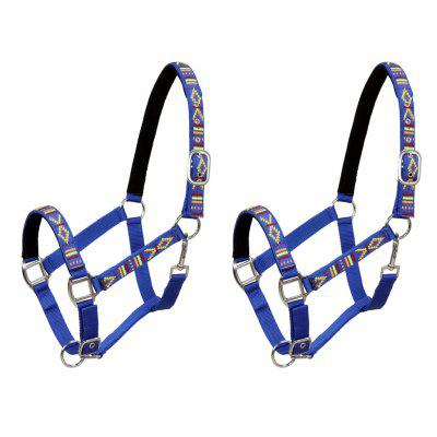 Horse Bridle 2 pcs Pony Size Nylon