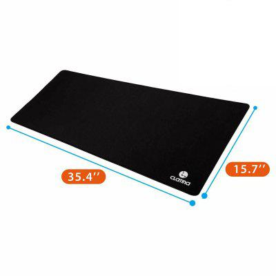 Oversized Gaming Mouse Pad Extended XXL Large Keyboard Mat Anti-Slip Black