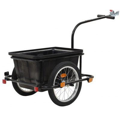 Bicycle Trailer 50 L Black Outdoor Tools, Gearbest  - buy with discount