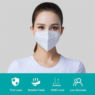 KN95 Mask Protective Disposable Non-woven 5-layer Non-medical mask
