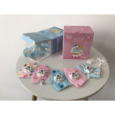 Dust Mask Cartoon Children with Breathing Valve Melt Blown Cloth Protective Non-medical