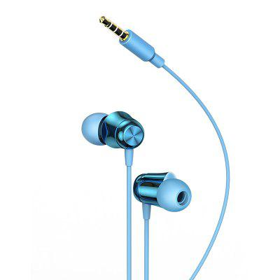 Baseus Encok H13 Wire Control 3.5MM In-line Interface Wired Headset With Wheat Phone
