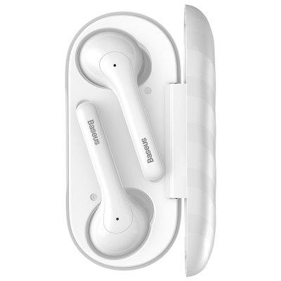 Baseus W07 in-ear Stereo Wireless Headset Encok TWS Subwoofer Bluetooth With Charging Compartment