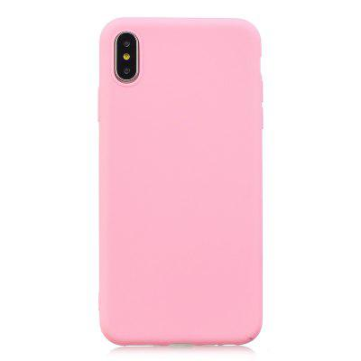 Candy Color Silicone TPU Phone Case For iPhone 11 11pro 11max X XS XSMAX XR  Soft Mobile