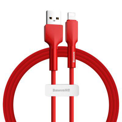 Baseus Silicone Data Cable USB For IP/ Type-C 1m /2m