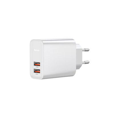 Baseus Fast PPS Dual USB interface Fast Charge Charger 30W European Standard Cpye-C+USB 30W European standard