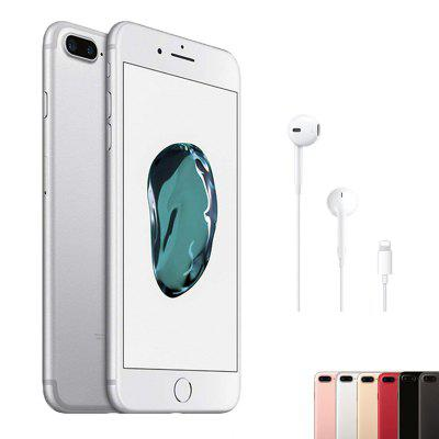 Apple Iphone 7 Plus unlocked mobile phone 12MP two cameras wide-angle 4G LTE 5.5 Inch quad core A10 3G RAM global version Image