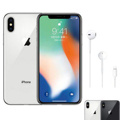Apple IPhone X Face ID 5.8 Inch 3GB RAM Hexa Core IOS A11 12MP Dual Back Camera 4G LTE Global Version Image
